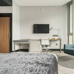 Chambre accessible Hotel ILUNION Atrium Madrid