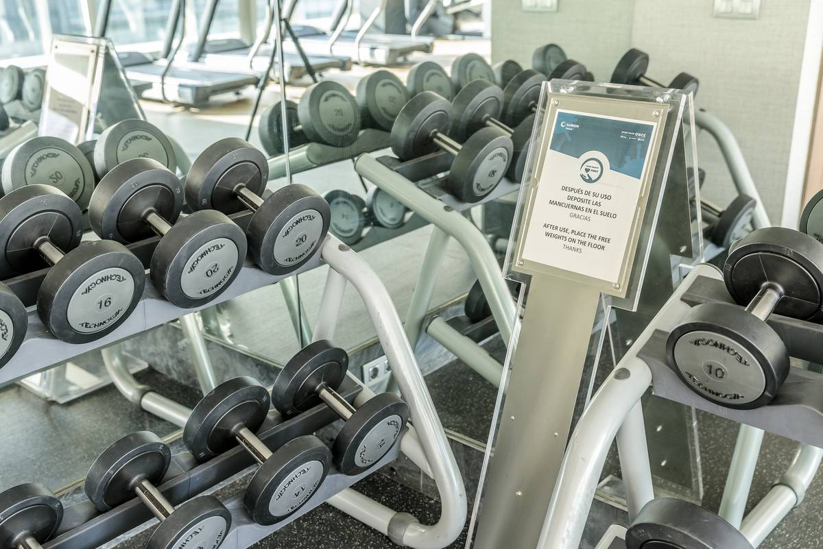 Gym hotel ilunion atrium madrid