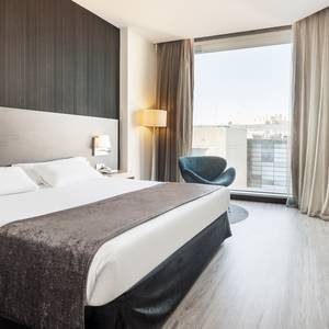 Chambre double Hotel Ilunion Atrium Madrid
