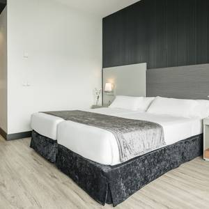 Chambre Individuelle Corporate Hotel ILUNION Atrium Madrid